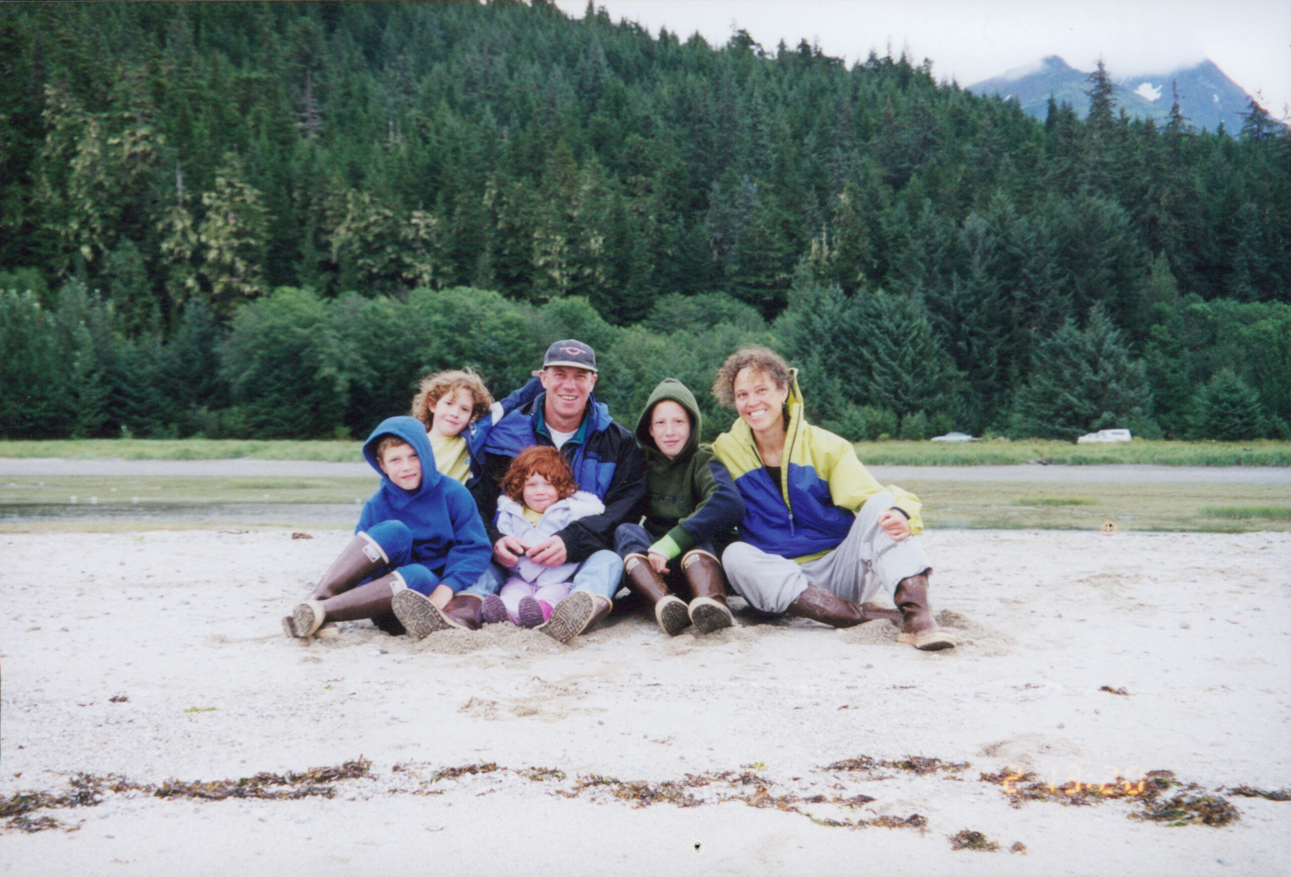 Photo of Dr Al Gross and family